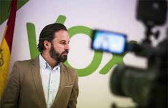 Santiago Abascal, VOX entraría en el Congreso de los Diputados