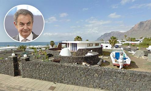 Zapatero y su nueva casa en Lanzarote