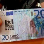 Billete de 20 euros marcado por los separatistas para internacionalizar el golpe contra España