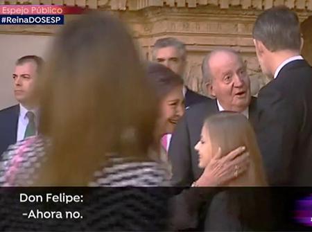 La bronca del Rey Juan Carlos contra Doña Letizia por el enfrentamiento con la Reina Letizia
