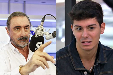Carlos Herrera y Alfred de Eurovisión