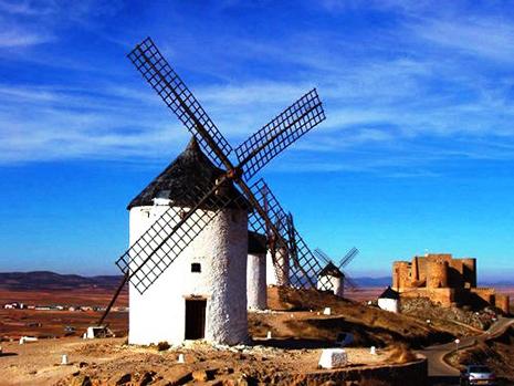 Molinos de Viente el día de Castilla