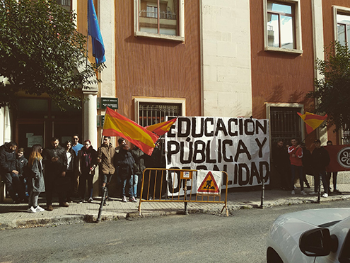 Iberia Cruor pancarta