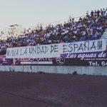 """Iberia Cruor pancarta """"Viva la Unidad de España"""""""