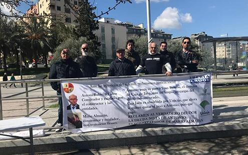 Militantes de Iberia Cruor en Jaén