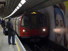 Metro de Londres donde una joven ha sido agredida por hablar español
