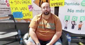 Julio, el hombre en huelga de hambre tras ser una víctima de la Dictadura de Género