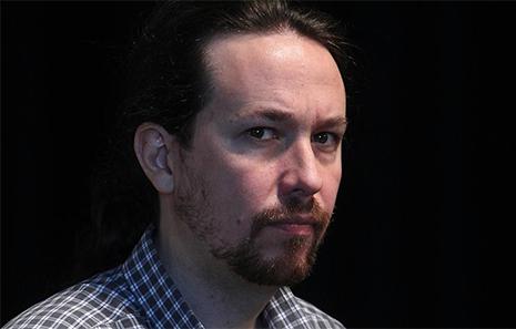 El líder comunista de Podemos, Pablo Iglesias