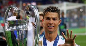Cristiano Ronaldo con su quinta Champions