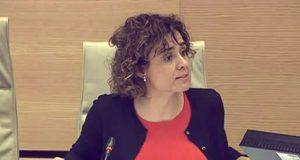 Dolors Montserrat en el Congreso de los Diputados hablando de Ideología de Género