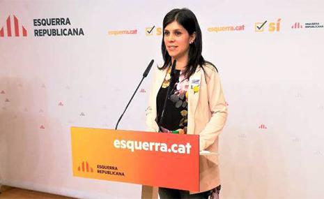 ERC dice no a Carles Puigdemont en rueda de prensa
