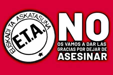 Comunicado de FE de las JONS sobre la banda terrorista ETA