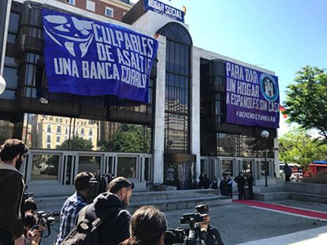 Sede de hogar Social Madrid en la Plaza de Colon