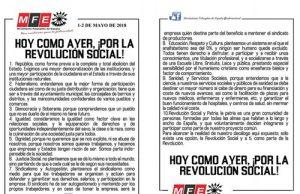 Movimiento Falangista de España sobre el día del trabajador 1 de mayo