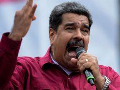 Nicolás Maduro en un discurso político en Venezuela