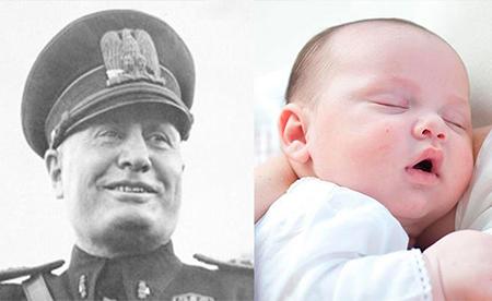 Un niño recibe el nombre de Benito Mussolini y un tribunal obliga a la familia a cambiárselo