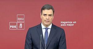 Pedro Sánchez presenta moción de censura contra Mariano Rajoy