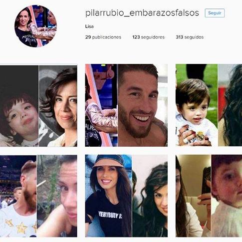 Pilar Rubio y sus embarazos