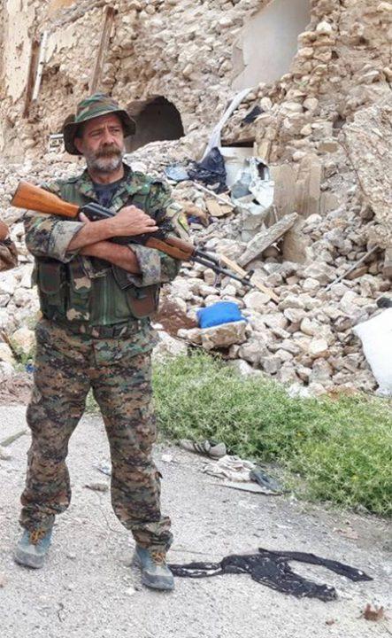 Ramón Rull luchando en Siria donde ha fallecido a manos de Estado Islámico