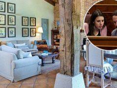 La casa de Pablo Iglesias e Irene Montero. El salón principal de Pablo Iglesias