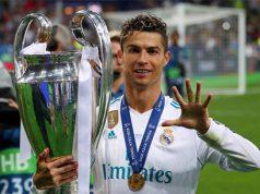 Cristiano Ronaldo tras ganar la decimotercera