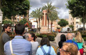 Cruz de los Caídos en la localidad de Vall de Uxó