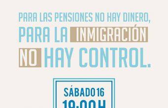 España2000 - Respeto cartel convocatoria defendamos las fronteras