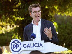 Feijoo en un acto del Partido Popular de Galicia