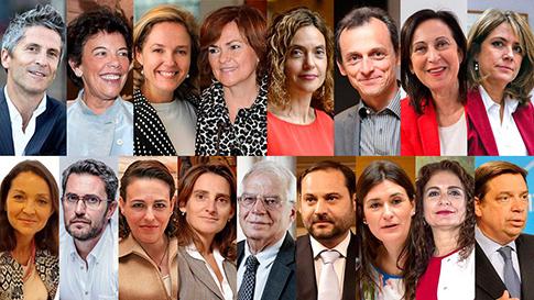 El Gobierno socialista de Pedro Sánchez