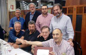 Homenaje al falangista Eduardo López Pascual en Cieza (Murcia)