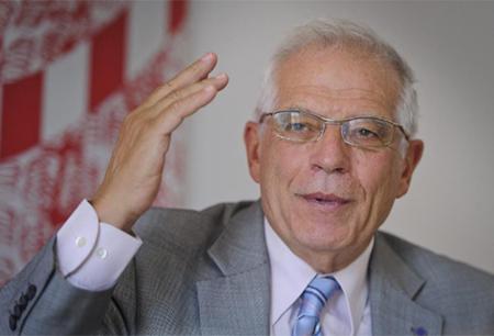 Josep Borrell ministro de exteriores