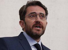 maxim huerta exministro de Cultura y Deportes en su dimisión