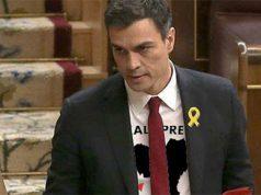 El Presidente del Gobierno Pedro Sánchez en el Congreso de los Diputados