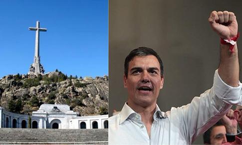 Pedro Sánchez y el Valle de los Caídos