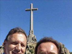 arnold schwarzenegger en el Valle de los Caídos