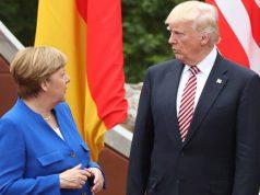 Donald Trump y Angela Merkel hablan sobre inmigración en Europa