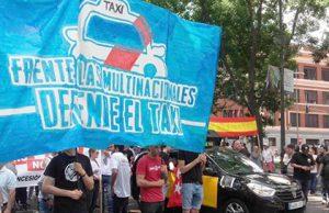 Hogar Social Madrid en defensa de los taxistas y del sector del Taxi