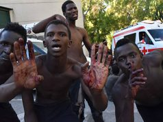 Inmigrantes violentos entran en Ceuta