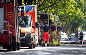 Ataque islamista en un autobús en Alemania