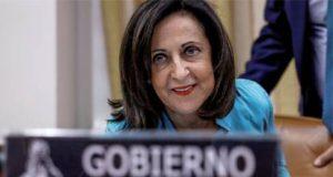 Margarita Robles en el Congreso de los Diputados