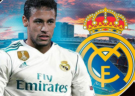 Neymar mira hacia el Real Madrid
