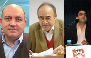 Pascual Lucas Diaz, Eduardo López pascual y Antonio Ortega Martínez