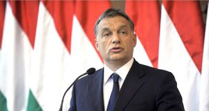 Viktor Orbán hablando sobre la inmigración