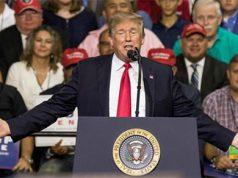 Acto político del Presidente Donald Trump