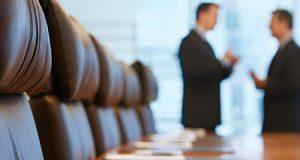 Reunión entre cliente y abogado