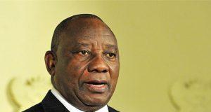 Presidente de Sudáfrica Cyril Ramaphosa