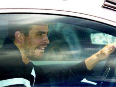 Gerard Piqué conduciendo sin carnet multado por la Guardia Urbana