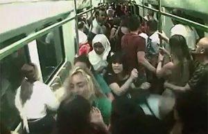 Pánico en el Metro de Valencia con gritos religiosos