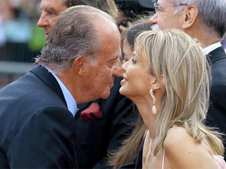 El Rey Juan Carlos I y Corina