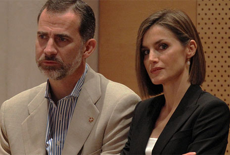 Felipe VI y Letizia Ortiz enfadados muy cerca de su divorcio